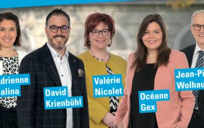 Vidéo : Nos candidats au Conseil Communal