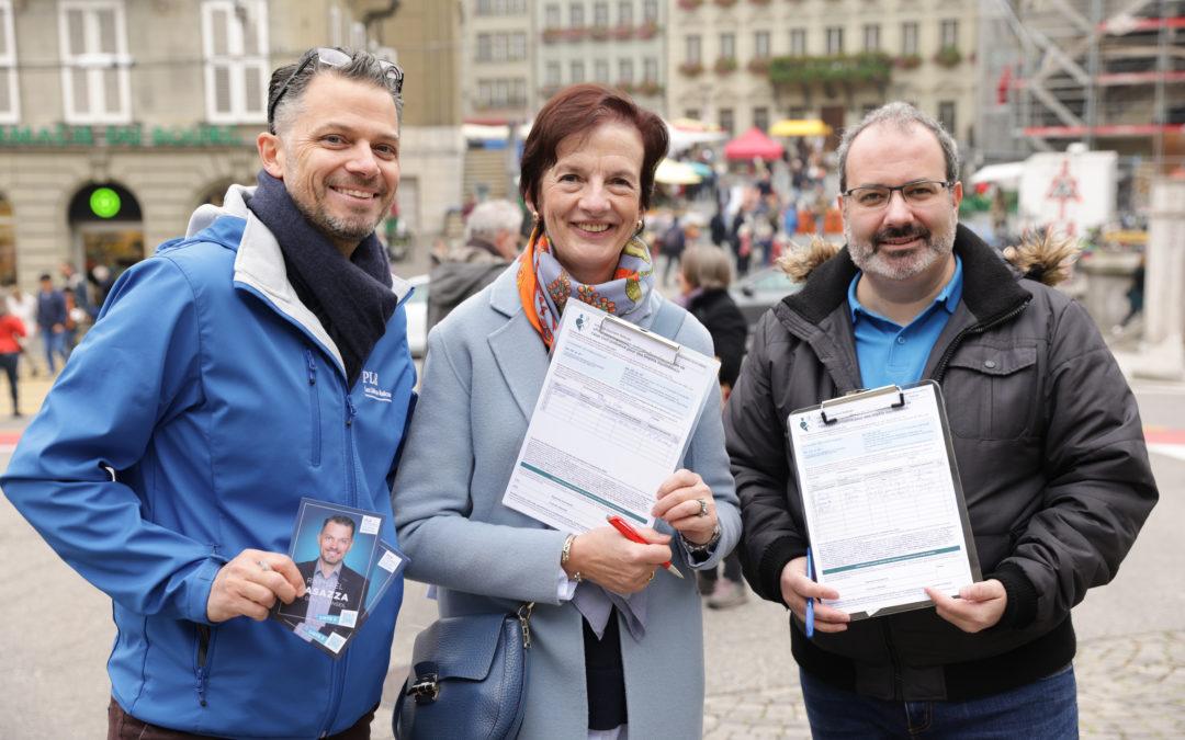 Le PLR Ville de Fribourg soutien l'initiative fédérale pour des impôts équitables